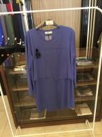 NOS014 Bize Fashion Ön Çapraz Bluz İndigo