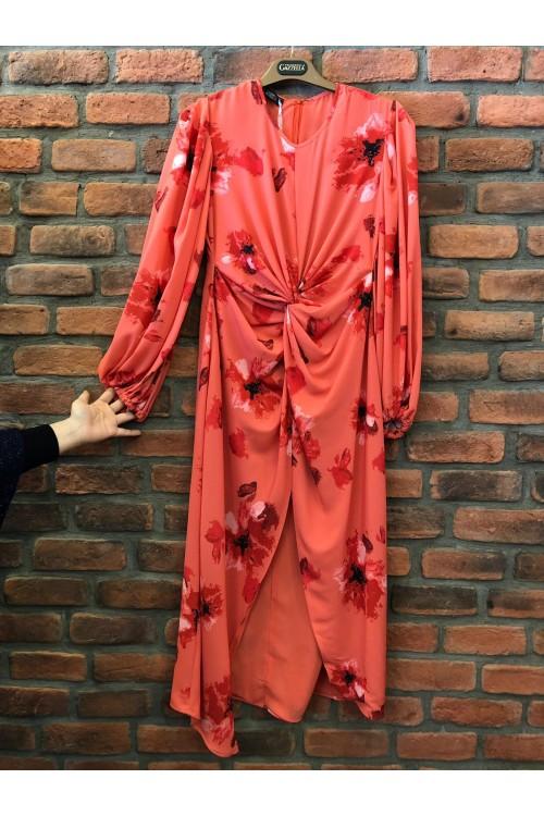32453 Gazzella Elbise Narçiçeği