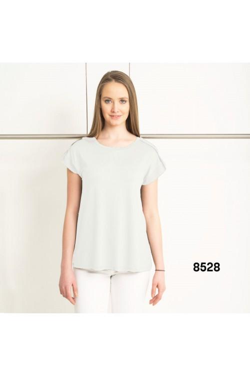 8528 Lal Bluz Beyaz