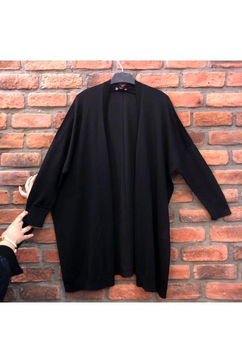 1003 Lal Triko Hırka Siyah