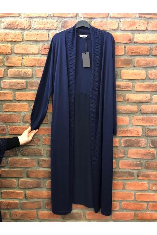 1026 Lal Triko Hırka Lacivert