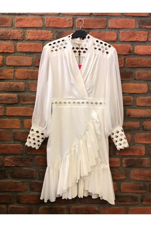 2934 Nocturne Elbise Beyaz